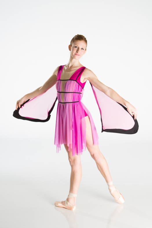 Butterfly Costume. Design by Jessie Kim. Photo by Matt Francis. In this photo: FBP Company Trainee Casey Dolson.