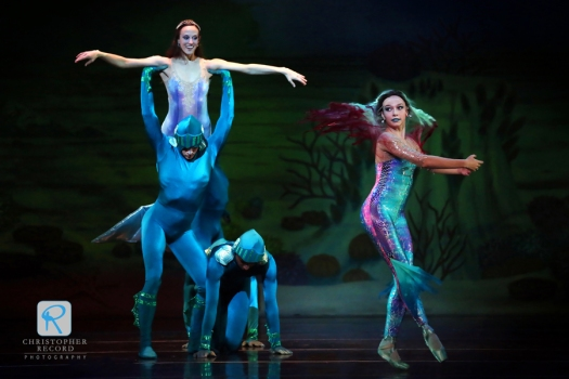 Christopher Record Dance Photography - Charlotte Ballet Little Mermaid